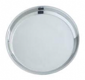Stainless Steel China Plate | Buy Online at the Asian Cookshop